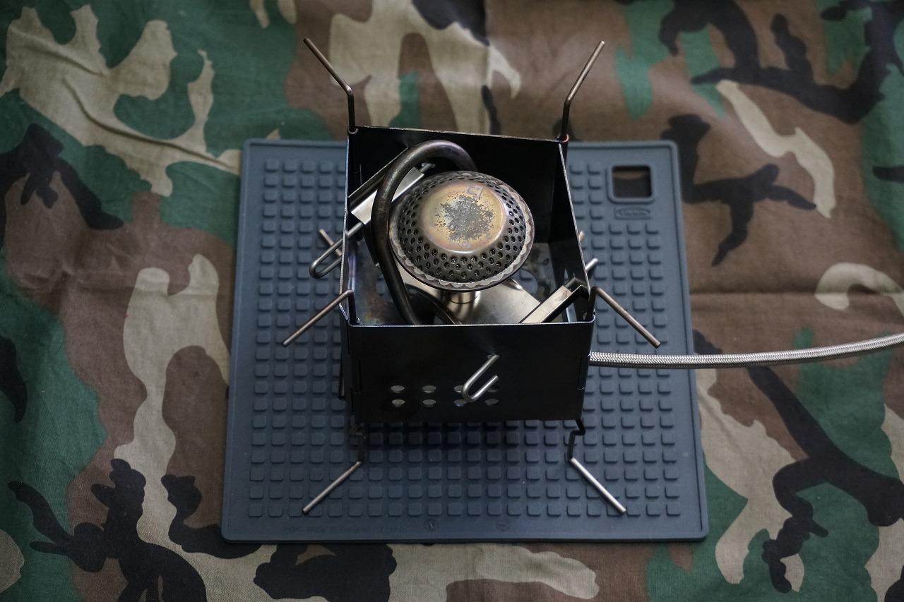 Firebox nano のガス化